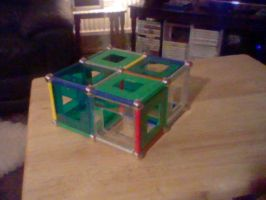 Geomag model - group 2A - Rectangular cuboid by LevelInfinitum