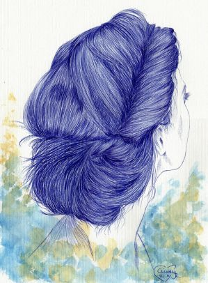 Hair Bun by Cindy-R