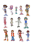 Dr. Manny's Database: Digimon characters by DoctorManny