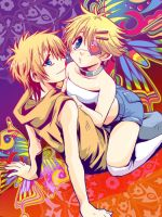 SP : Kenny and Butters 06 by sakurapanda