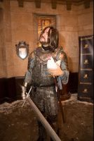 David as The Hound at Rave of Thrones by DavidCBaxter