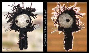 Edward Scissorhands Voodoo Doll~ by Miaw-Asakura