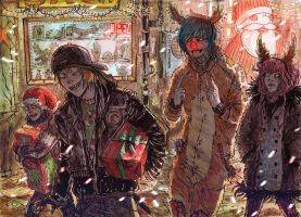 Christmas Shopping by Harkill