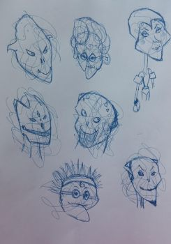 Faces 2 by Ahsoothe