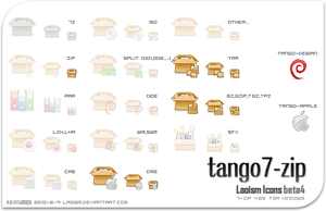 tango 7-zip icons b4 Preview by Laoism