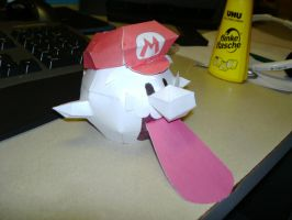 Papercraft Mario Boo 2 by Esteban1988