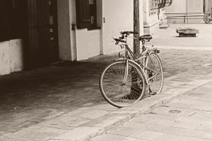 Old Bicycle by themagilla
