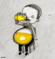 beer belly by berkozturk