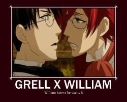 Grell X William by 199592