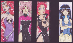 villains bookmarks by magicpotion