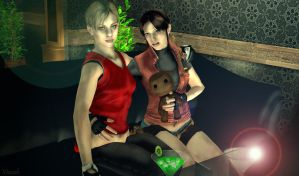 Jill and Claire by Vizzah