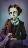Lewis Carroll by AlyziaZherno