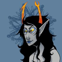 A wild Vriska appeared by clockworkViper