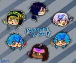 DMMD Stickers by NotJustSalt