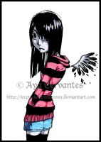 Emo Girl 3 by xxpunkedprincessxx