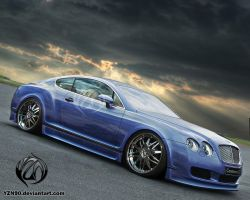 Bentley Continental-GT by Yzn90