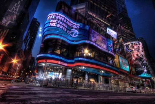 Times square by UrbanDawn