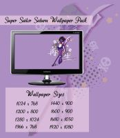 Super Sailor Saturn Wallpaper Pack by Sigma-Astra