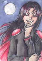 Secret ACEO-trade: Nocturn by JaninaKeks