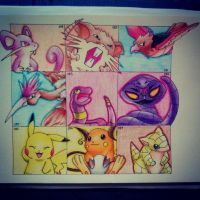 The Pokedex Project Page 3 by mypokeart
