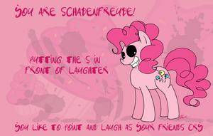 What Pony Are You? - Schadenfreude by caycowa