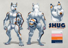 DetroitDiesel commission - Shug character sheet by Rhandi-Mask