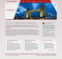 Design for a Legal Consultancy by harkalopchan
