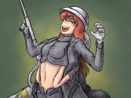 infanterie tickling by Tickler-kun