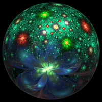 Flowery ball by bunnywithrose