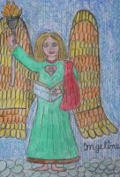 angel of teaching and learning by ingeline-art