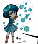 Ami with Bubbles by umikohoshi