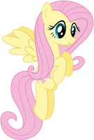 Just Fluttershy flying around by Gigo-VectnPix