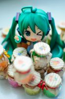 Miku's Candy Booth by KuroDot