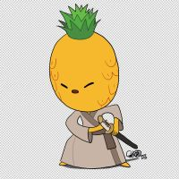 Pineapple shogun by theCHAMBA