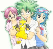 The Law of Ueki - Group by Glyf