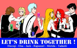 Let's Drink Together! by MugenMusouka
