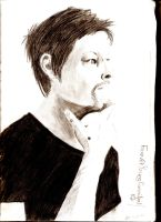 Norman Reedus by ForeverYoungCannibal