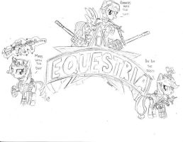 FOB Equestria banner entry(unfinished) by PAK-FAace1234