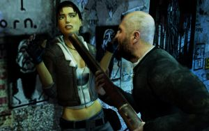 Gregory caught Alyx by Gomios13