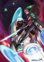 Space rider by HXH17