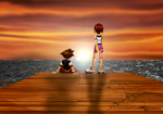 Under the same sunset by 7namine
