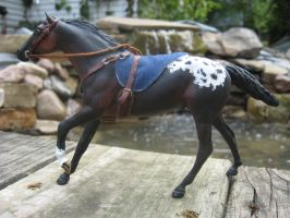Paddock Pals Scale Western Bridle and Bareback Pad by SpaceyChihuahua