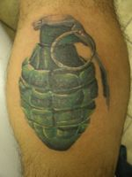 grenade by TwoToneTattoo