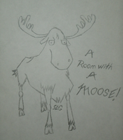 A Room...WITH A MOOSE! by SIDNEYG