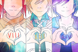 8 13 14/3 : Three Hearts Are One by Knight-Dawn