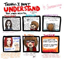 Things I don't understand that others seem to Meme by ShamanEileen