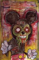 Zombie Mouse by BYRONvonREMPEL