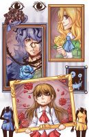Ib: The story of 3 Roses by KrazyD