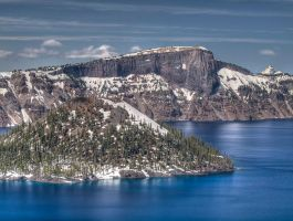 Crater Lake II by kdiff3