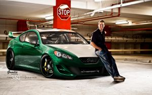 Hyundai Genesis Coupe by GoodieDesign